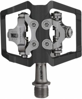 XPEDO Педали XMF-09AC контактные, автомат, 2-х стороны, ось  cr-mo, 3 промподш, 332г, черные (2017)