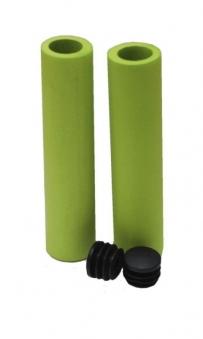 Ручки 6-550 на руль высокопроч. износостой.медиц. силикон CLL-SF1 125мм антискользящ. зеленые