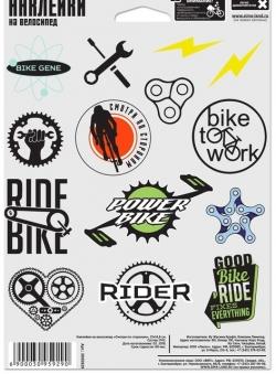 Crazy Наклейки на велосипед \