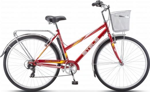 STELS Велосипед Navigator-350 Lady 28 красный