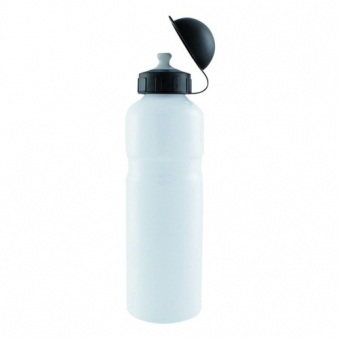 M-WAVE Фляга 5340296 алюм, 0,75 с крышкой , белая