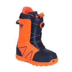 BURTON Ботинки сноубордические HIGHLINE BOA BLUE/ORANGE/WHITE 8.5