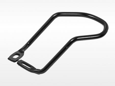 Защита заднего переключателя (6-603) крепление на два болта к раме, сталь, черная (2017)