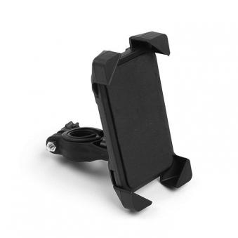 Велодержатель для телефона, до 185*95 мм, чёрный, пластик
