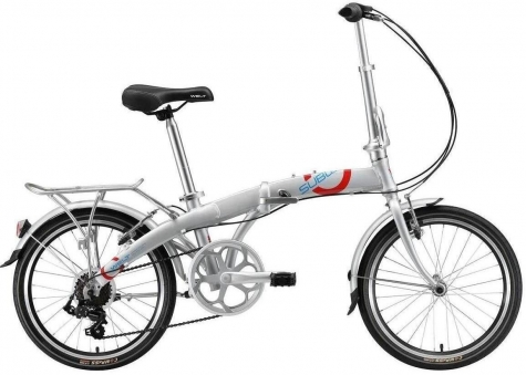 WELT Велосипед Subway 20 2021 Silver (дюйм:11,5)