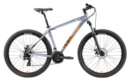 WELT Велосипед Ridge 1.0 D 27 2021 Metal grey (US:S)