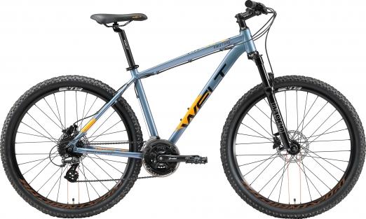 WELT Велосипед  Ridge 2.0 HD 27 2021 Metal blue (US:S)